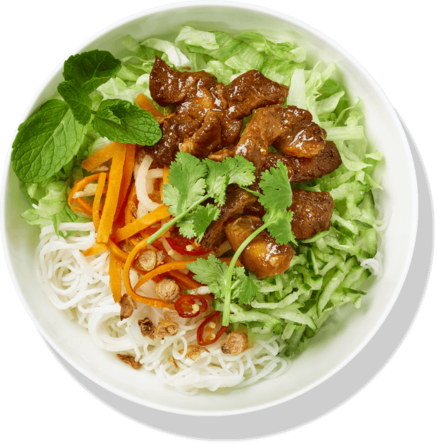 BBQ Chicken Bún
