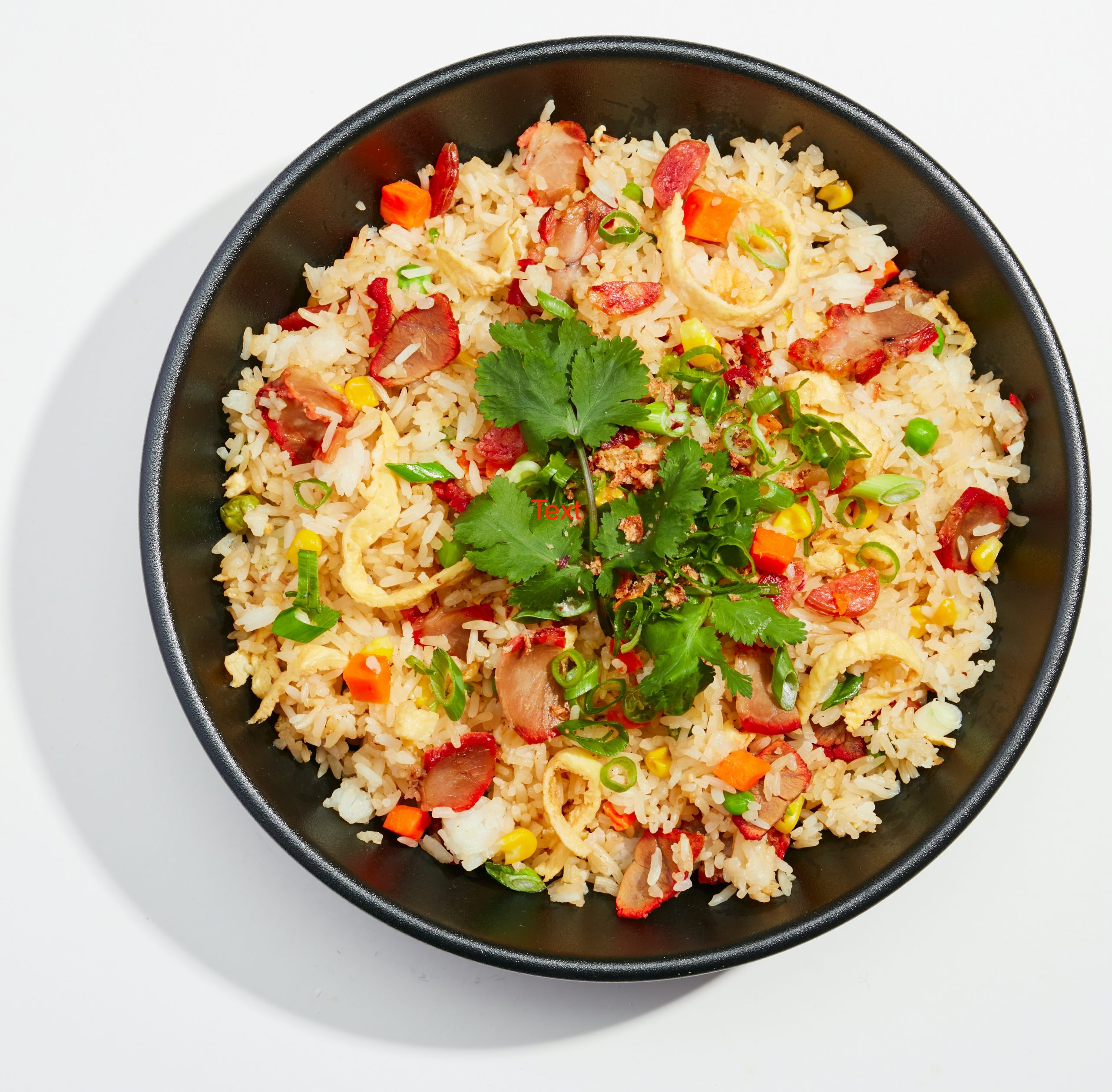 Uncle's Best Fried Rice with BBQ Pork